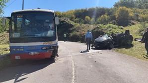 Acidente com autocarro escolar em Arcos de Valdevez