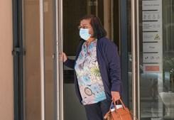 Etelvina Fonseca, empregada de limpeza da casa que foi arrendada pelos estudantes, testemunhou em tribunal no caso da tragédia do Meco