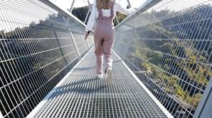Reportagem sobre a Ponte 516 Arouca, a maior ponte pedonal suspensa do Mundo, que está localizada em Arouca, junto aos Passadiços do Paiva