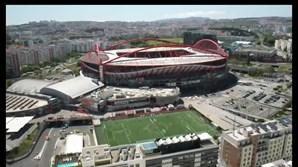 Estádio da Luz, em Lisboa