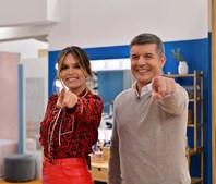 Diana Chaves e João Baião consolidam audiências
