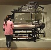Museu tem espaço dedicado à indústria têxtil, no primeiro piso
