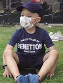 Tomás  tinha oito anos. Lutava contra um neuroblastoma agressivo