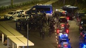 Reforço policial em Alvalade