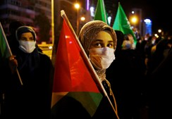 Protestos em Ancara, Turquia
