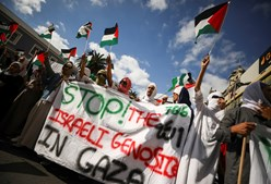 Protestos na Cidade do Cabo, África do Sul