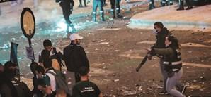 PSP admitiu ter sido obrigada a disparar balas de borracha para conter a desordem que se seguiu ao jogo do título