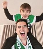 Pedro Fernandes com o filho