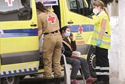 Alerta. Meãs do Campo viveu um final de dia agitado, com um homem a matar e a ferir e a barricar-se. a filha  da vítima mortal foi assistida.