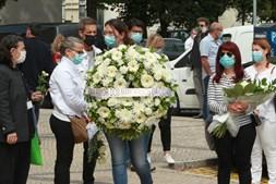 Vários rostos da televisão, teatro e cinema marcaram presença no último adeus à atriz Maria João Abreu, em Lisboa