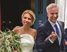 Ricardo Carriço de 56 anos casou-se com a amiga de longa data, Ana Rebelo