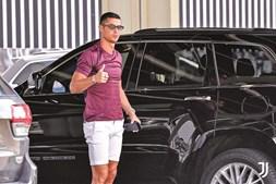 Cristiano Ronaldo estreou esta semana o imóvel de luxo em Lisboa