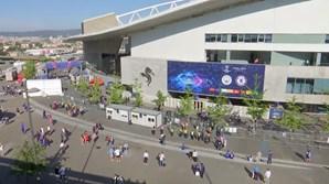 Adeptos começam a chegar ao Estádio do Dragão