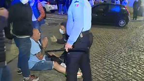 Adepto do Man. City detido no Porto
