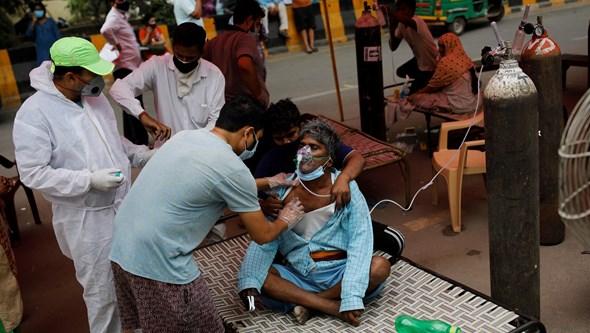 Doentes com Covid-19 estão a contrair infeções fúngicas graves na Índia