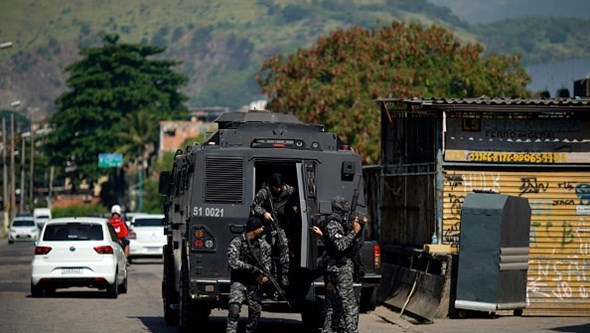 As imagens da operação policial na favela do Jacarezinho, no Rio de Janeiro. Há pelo menos 25 mortos