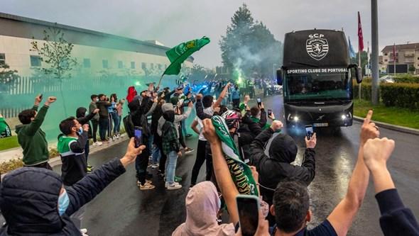 Onda verde: Sporting já prepara a festa do título