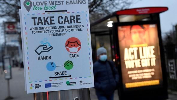 Reino Unido regista quatro mortes por Covid-19 nas últimas 24 horas e confirma recuo da pandemia