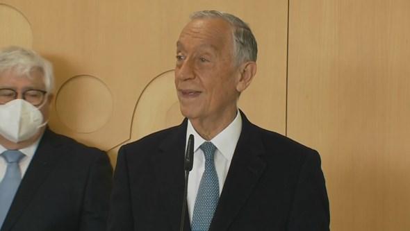Presidente da República convencido de que orçamentos para 2022 e 2023 vão passar