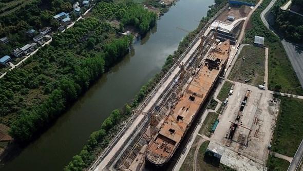 China constrói nova versão do Titanic a 1200 quilómetros do mar e vai permitir visitas