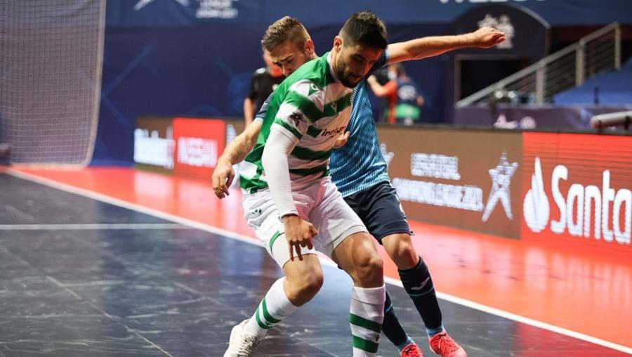 Sporting bate Inter Movistar e assegura final da Liga dos Campeões de futsal