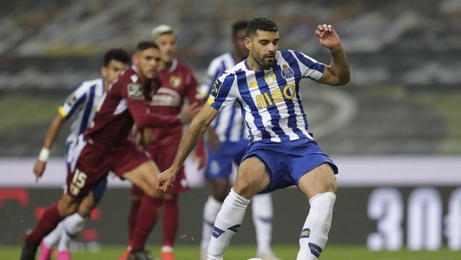Taremi marcou o 15.º penálti assinalado a favor do FC Porto, na Liga, esta época