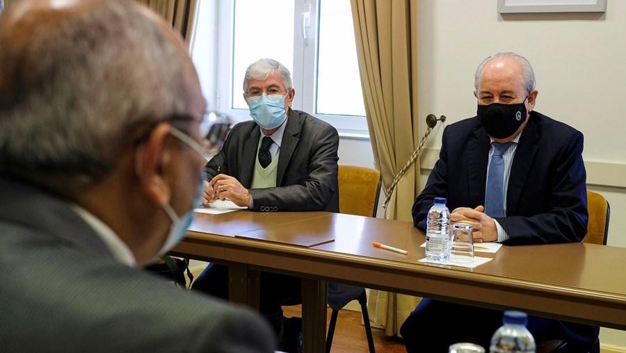 Rui Rio recebeu o Sindicato dos Oficiais de Justiça, para falar sobre a sua proposta para a reforma do setor