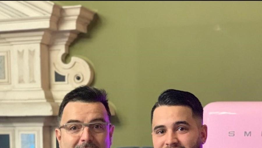 António e Christian Teixeira