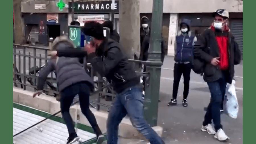 Expulso de França o espanhol que atirou mulher pelas escadas do metro