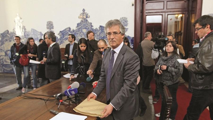 Luís Vaz das Neves, ex-presidente da Relação de Lisboa, prestou declarações no Conselho Superior da Magistratura