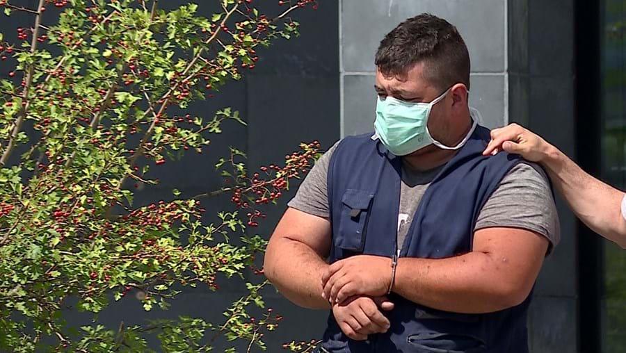 Rui Dias , de 29 anos, foi condenado por quatro dos 62 crimes da acusação