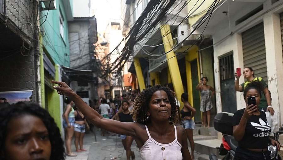 População manifestou-se nas ruas