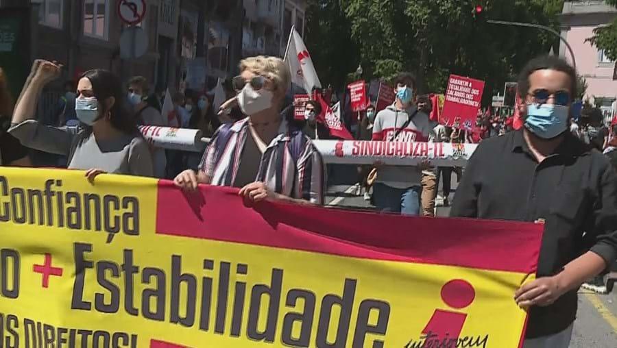 Manifestação, CGTP