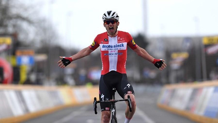 Dinamarquês Kasper Asgreen vence a quarta etapa da Volta ao Algarve