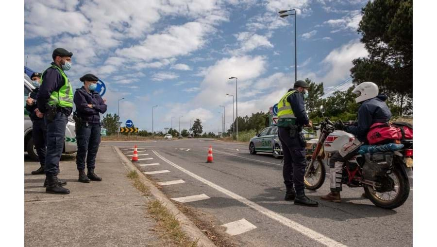 Posto de controlo da GNR em Vila Nova de Milfontes