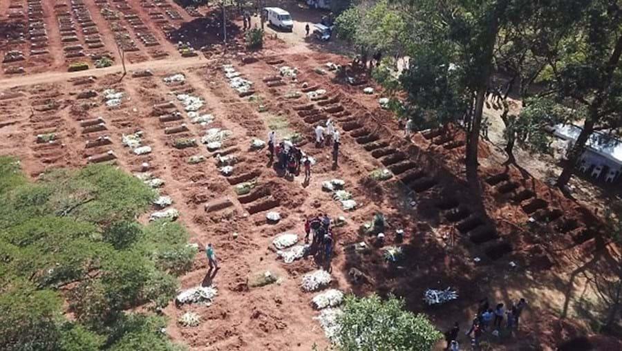 São Paulo ultrapassa as 100 mil mortes por Covid-19