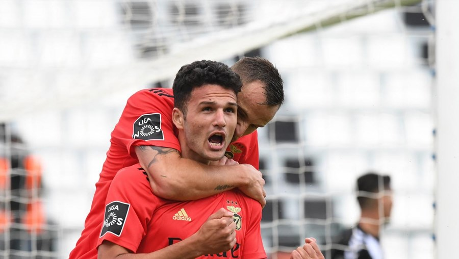 Gonçalo Ramos bisou na partida