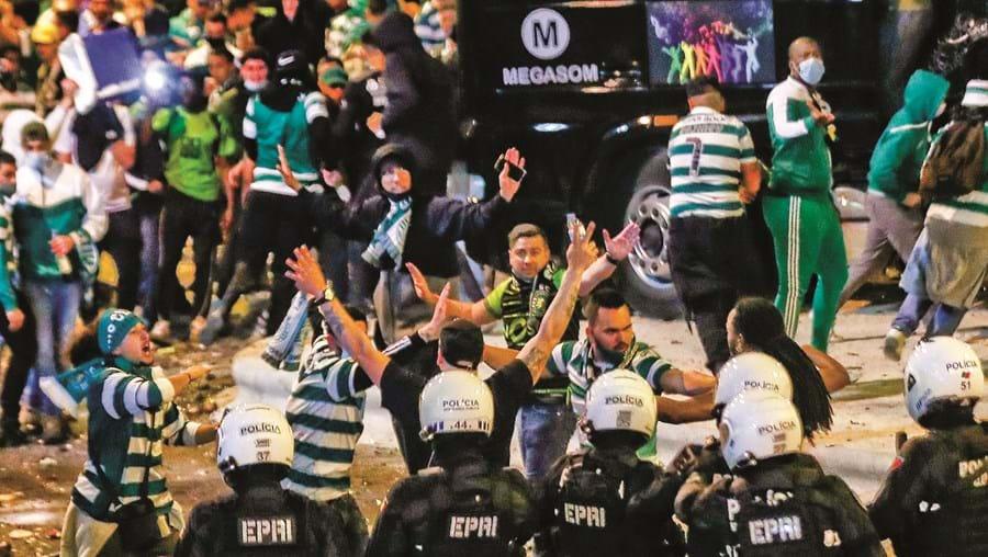 Reforço policial para evitar confrontos como os do jogo do título, na terça-feira