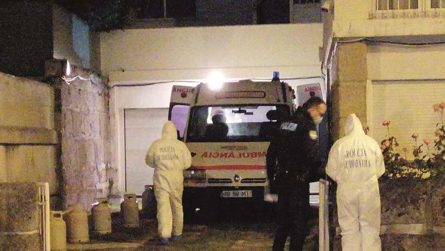Polícia Judiciária realizou recolha de indícios no local do crime