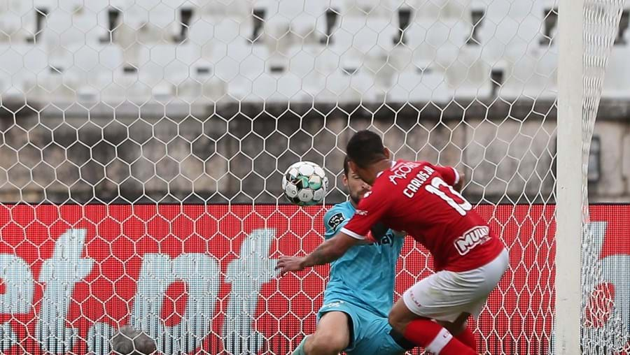 Primeiro golo de Carlos Júnior foi marcado de penálti