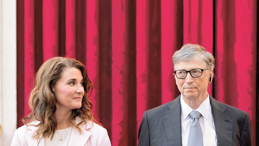 Melinda e Bill Gastes estiveram juntos 27 anos