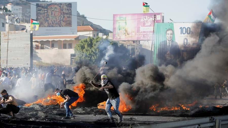 Fúria nas ruas no Médio Oriente