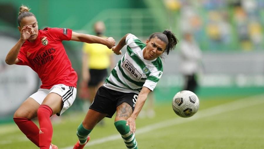 Benfica vence frente ao Sporting e é campeão nacional de futebol feminino