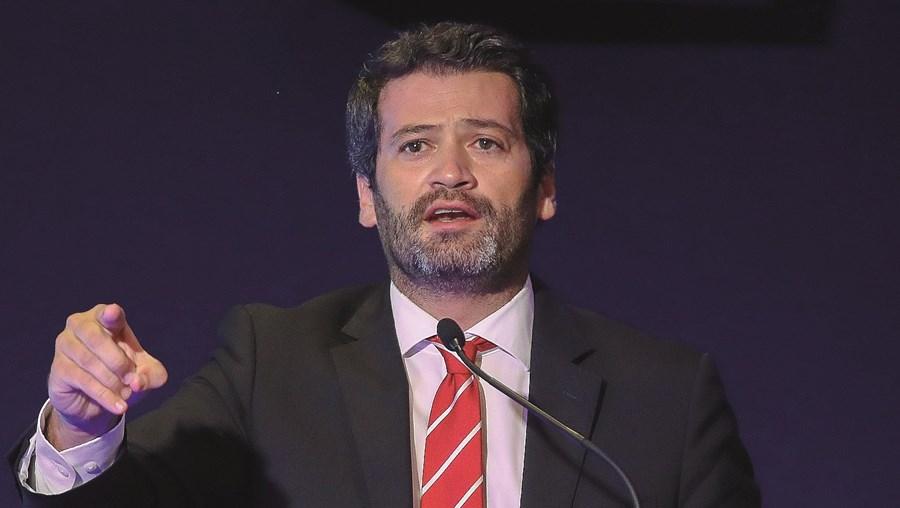 André Ventura no segundo dia do III Congresso do Chega, em Coimbra