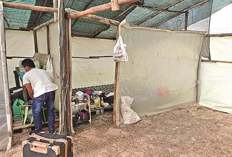Imagens a que a CMTV teve acesso revelam situação precária em que vivem trabalhadores agrícolas que sazonalmente se deslocam até Odemira para trabalharem na época alta das colheitas