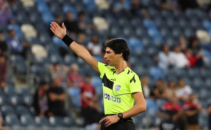 Sapir Berman é a primeira transgénero a apitar um jogo da Primeira Liga em Israel