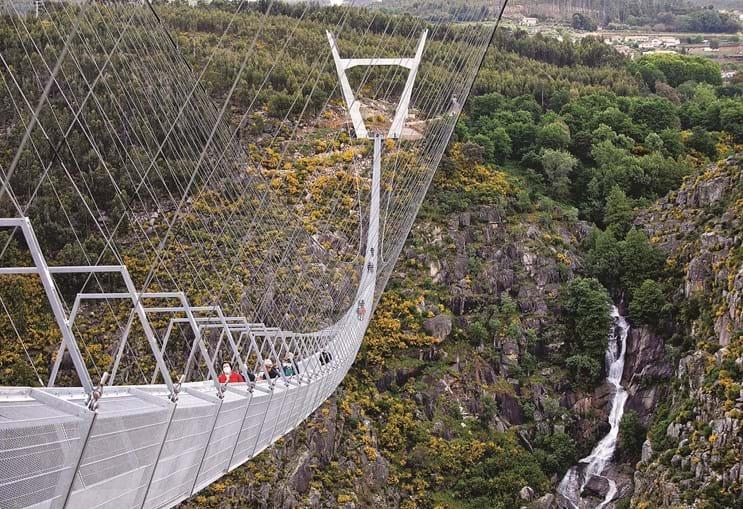 516 Arouca: a maior ponte pedonal suspensa do Mundo