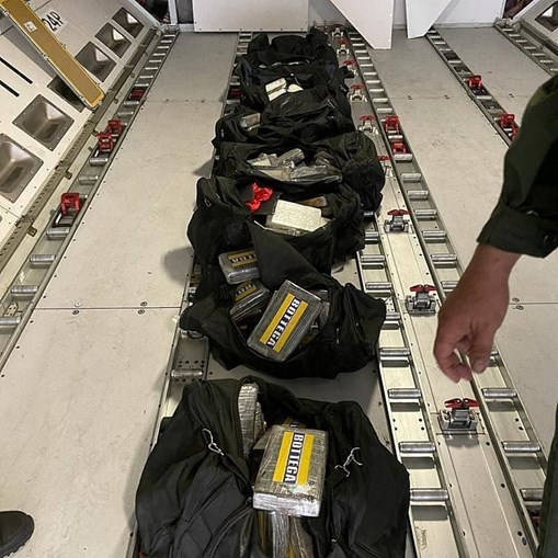 Droga apreendida no Aeroporto da Venezuela em avião da TAP