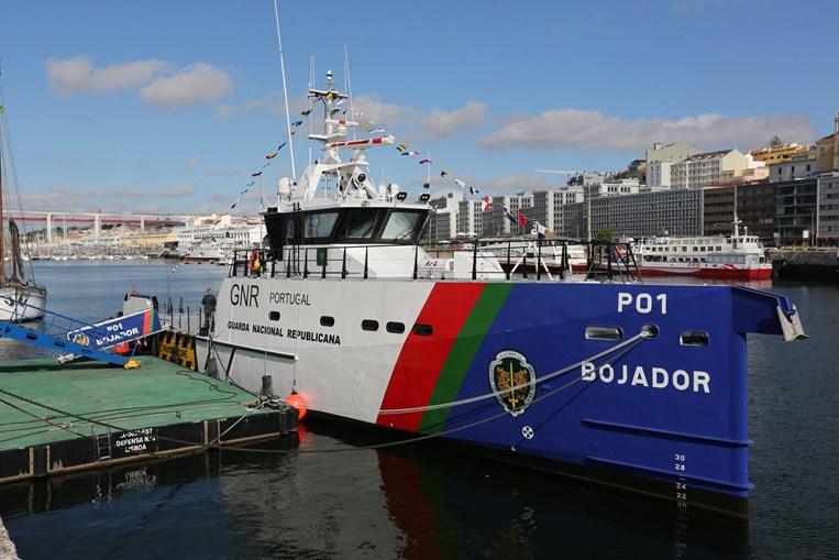 Bojador' vai reforçar os meios da Unidade de Controlo Costeiro (UCC) da GNR