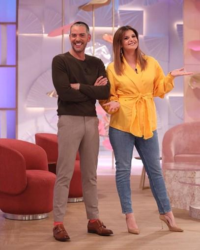 Cláudio Ramos e Maria Botelho Moniz têm perdido espectadores